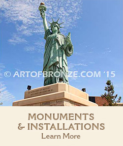 Learn more about Art of Bronze monuments and installations.